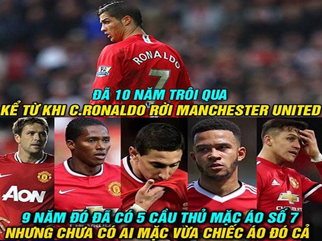"""Ảnh chế: MU """"đại khủng hoảng"""", người hâm mộ nhớ Ronaldo"""