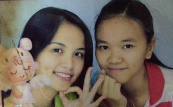 Khi lên cấp 3, nhan sắc của Diễm Hương mới dần hoàn thiện.