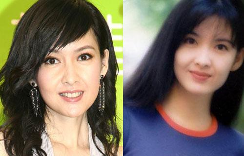 Những năm 90, Châu Huệ Mẫn là biểu tượng nhan sắc, khuôn mặt ngọc nữ của cô