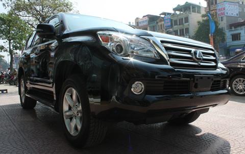 Giá sàn tính thuế xe Lexus GX 460 tăng mạnh nhất trong đợt điều chỉnh này. Ảnh: Trọng Nghiệp