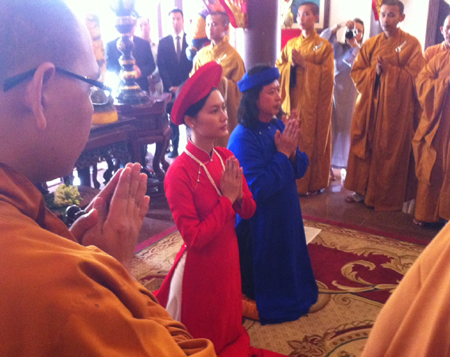 Lễ cưới của Đỗ Hải Yến đã được tổ chức tại Quy Nhơn ngày 12/10 vừa qua