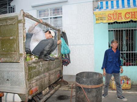 Lượng rác mà lực lượng dân lập thu gom chiếm khối lượng lớn tại TP.HCM.