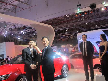Ca sỹ Nu Phước Thịnh chính thức làm đại sứ Audi