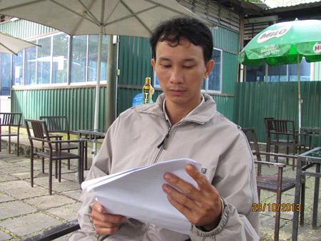 """Anh Huỳnh Viết Linh cho rằng, TTYT TP.Huếkhông coi trọng mạng sống bệnh nhân thì việc hỗ trợ tiền cho gia đình anh không có ý nghĩa gì""""."""