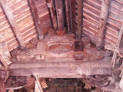 Nhà ống phố cổ Hà Nội cũng được xây dựng theo nguyên lý cơ bản trong kiến trúc nhà gỗ truyền thống của người Việt. (Ảnh: Vân Nhi)