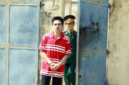 Lý Nguyễn Chung tại trại giam. Ảnh: Vietnamnet.