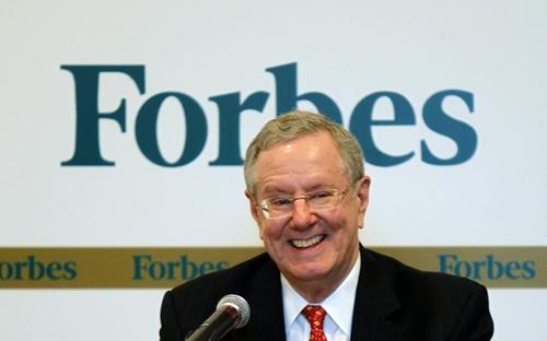 Steve Forbes hiện là tổng biên tập các tạp chí của Forbes. Ảnh: The Atlantic Wire