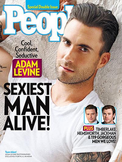 Adam Levine xuất hiện trên trang bìa tạp chí People