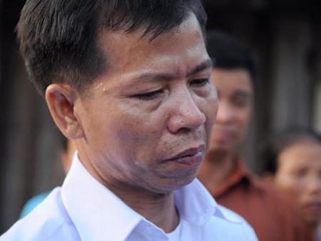 Ông Nguyễn Thanh Chấn, ra tù sau khi được giải oan.