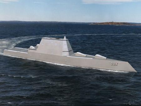 Tàu khu trục tàng hình DDG-1000 lớp Zumwalt sẽ được Mỹ đưa vào châu Á-TBD.