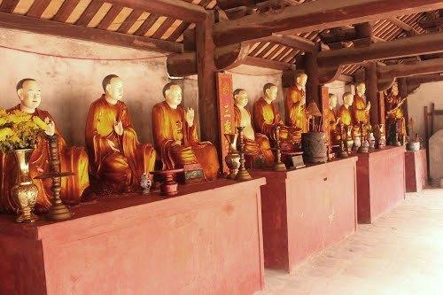 Tượng La Hán chùa Đậu.