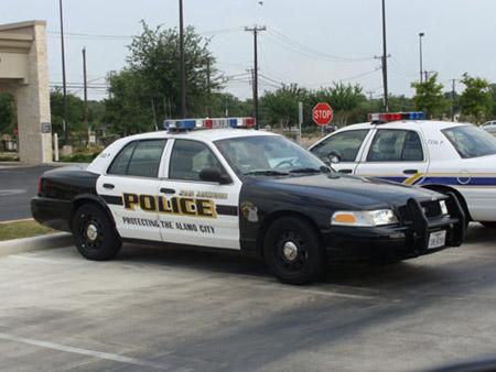Hình ảnh xe tuần tra của cảnh sát