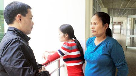 Bà Thủy kể lại câu chuyện bi kịch của chị Duyên và chị Hường cho PV Báo ANTĐ