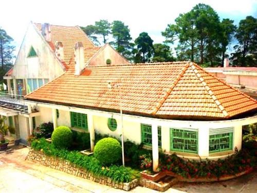 Biệt thự Lam Ngọc trong khu biệt điện Trần Lệ Xuân.