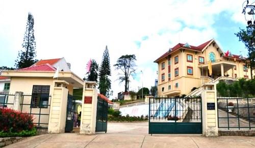 Biệt điện Trần Lệ Xuân nay là Trung tâm lưu trữ Quốc gia IV.