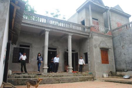 Nhà tránh lũ của gia đình chị Phạm Thị Xuyến được xây dựng với tổng chi phí hơn 100 triệu đồng.