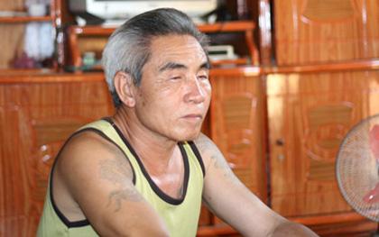 Ông Nguyễn Xuân Lai (Thượng Cửu, Thanh Sơn, Phú Thọ) là người có tới 4 vợ, 21 con, 69 cháu. Ảnh: Phạm Ngọc Dương.
