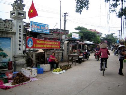 Chợ Vân Côn.