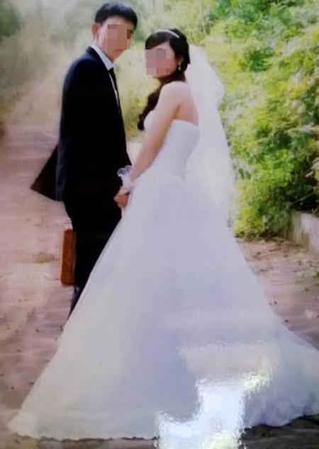 Anh S. và chị Q. hạnh phúc bên nhau.