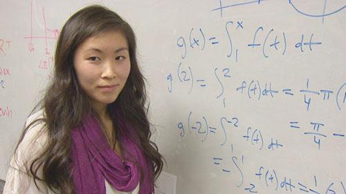 Nữ sinh gốc Việt Tracy Tran. Ảnh: NBC News