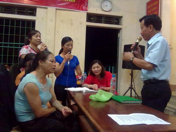 Một buổi sinh hoạt của Câu lạc bộ đàn, hát dân ca xã An Tường (Ảnh: TTĐT Tuyên Quang)