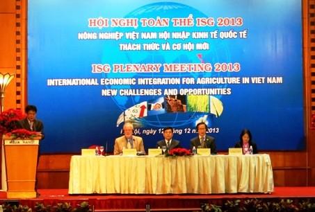 Hội nghị toàn thể ISG 2013. (Nguồn ảnh: VGP)