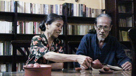 Vợ chồng ông Nguyễn Thế Thành