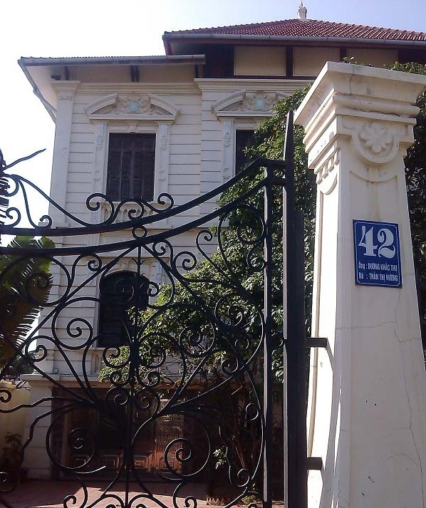 Ngôi nhà, nơi bố mẹ Dương Chí Dũng đang sinh sống