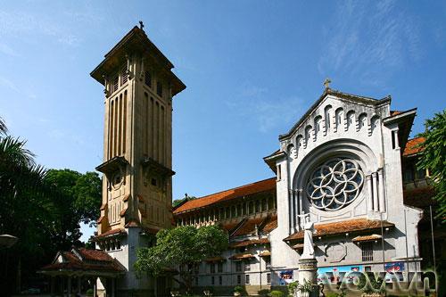 Nhà thờ Cửa Bắc số 56 Phan Ðình Phùng. Ảnh: VOV.