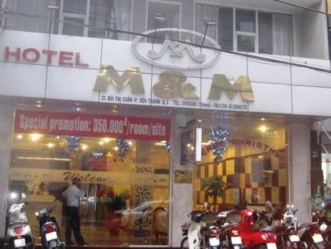 Khách sạn M&M nơi 2 bảo vệ làm môi giới mại dâm.