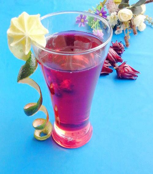 Cách ngâm hoa atiso đỏ làm nước uống - 13