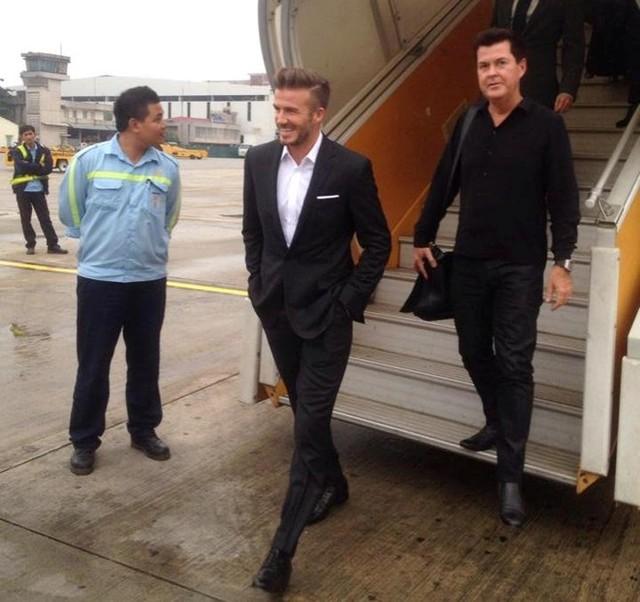 Bao nhiêu tiền cho chuyến thăm chớp nhoáng Việt Nam của David Beckham?