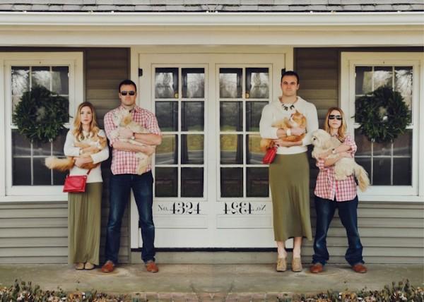 Những bức ảnh gia đình tệ nhất trong mùa Giáng sinh-Bạn
