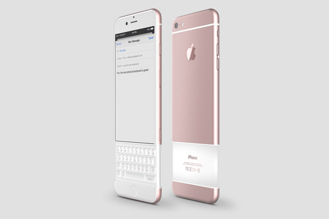 an tuong iphone 7 concept dung ban phim truot hinh anh 3
