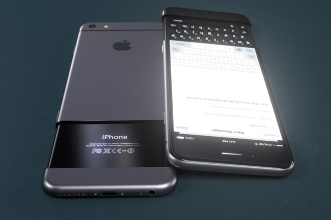 an tuong iphone 7 concept dung ban phim truot hinh anh 5
