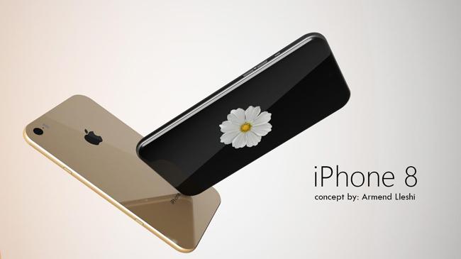 iphone 8 man hinh 4k, kich thuoc sieu mong hinh anh 1