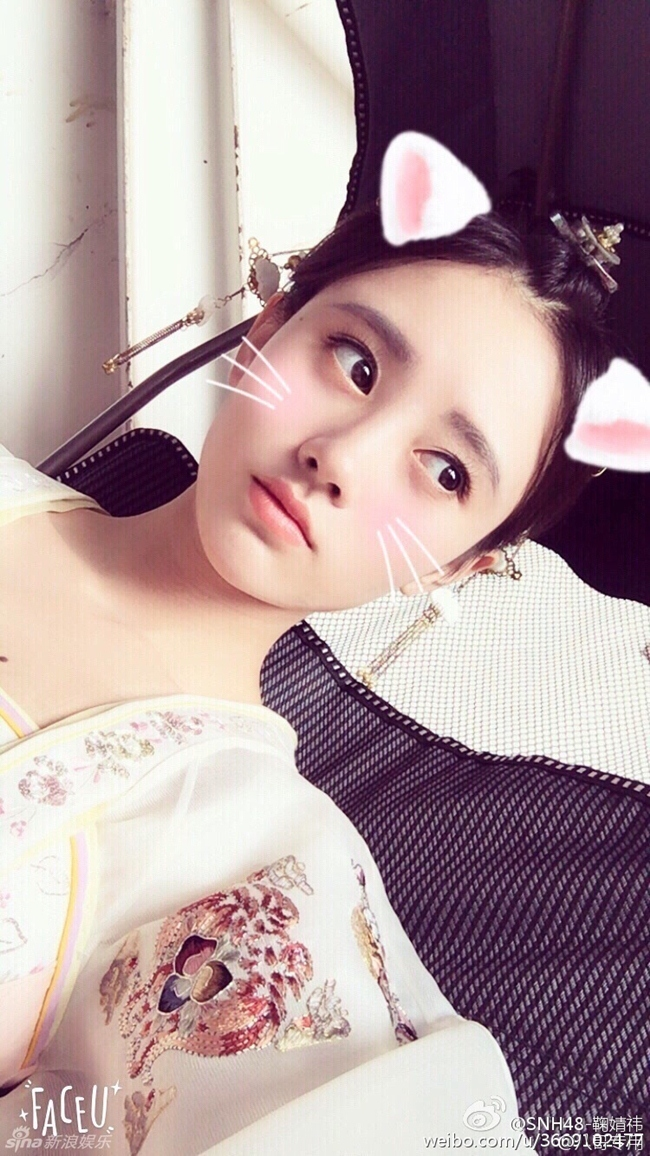 my nu thay the angelababy trong show thuc te an khach la ai? hinh anh 20