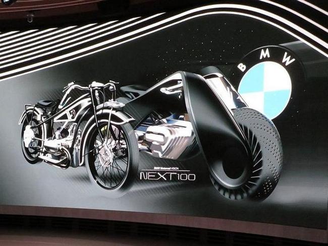 can canh xe tu can bang bmw motorrad vision next 100 hinh anh 3