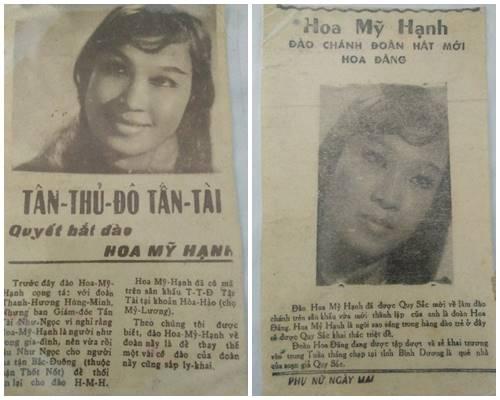 Báo chí rất quan tâm đến cô đào chính xinh đẹp, hát hay này