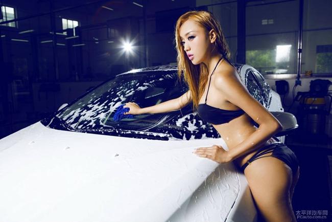 khong the hung ho truoc dan hot girl rua xe nong bong hinh anh 16