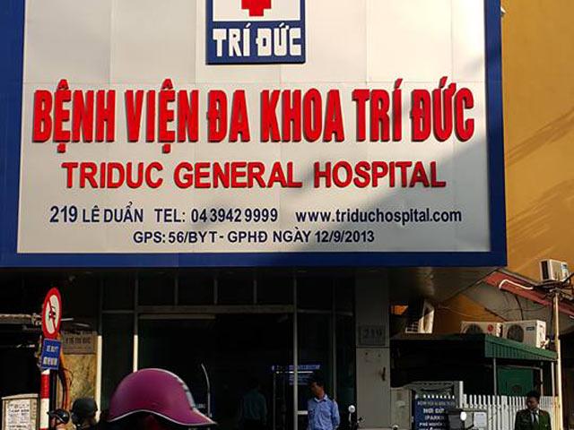 HN: Hai bệnh nhân tử vong sau khi gây mê ở bệnh viện Trí Đức
