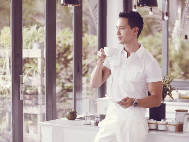 Xao lòng vì vẻ đẹp nam thần của bạn trai Hồ Ngọc Hà