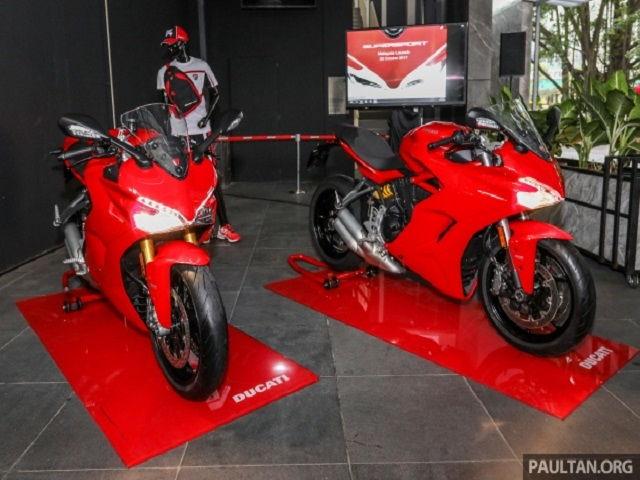 Ducati SuperSport 2017 có giá từ 435 triệu đồng
