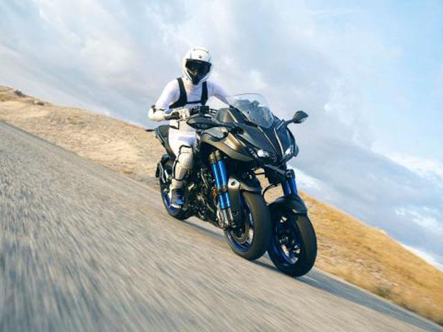 """Yamaha """"vén màn"""" xe ba bánh Niken: Hầm hố và mạnh mẽ"""