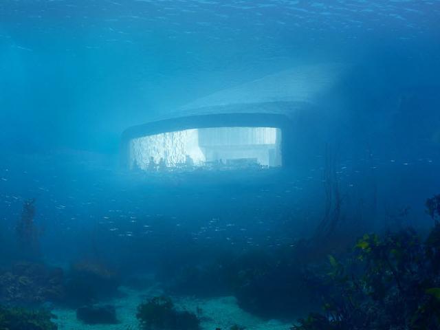 Khám phá nhà hàng dưới nước đầu tiên ở châu Âu