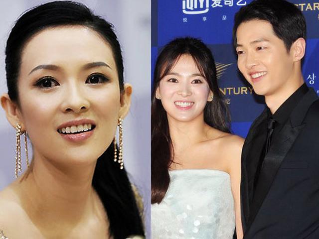 Toàn cảnh đám cưới Song Hye Kyo trước giờ G: Chương Tử Di đến dự
