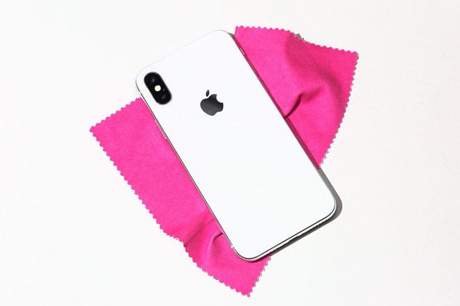 trên tay iphone X