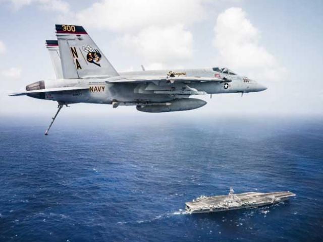 3 đội tàu sân bay Mỹ đem dàn vũ khí hùng hậu áp sát Triều Tiên