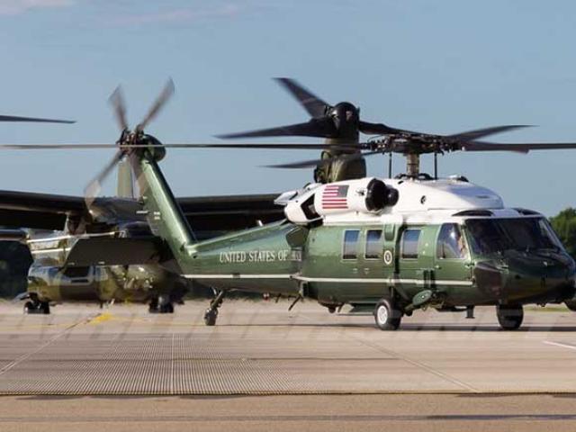 Trực thăng Marine One của ông Trump đang ở Việt Nam có gì đặc biệt?