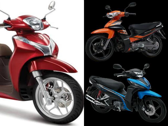 Giáp tết, xe máy đua nhau khoe sắc mới tại thị trường Việt